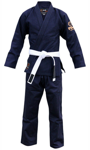 Kid's Navy All Around BJJ Gi by Fuji - Budovideos
