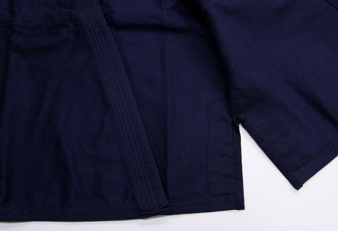 Inside Skirt - Navy All Around BJJ Gi by Fuji