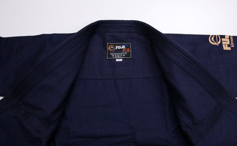 Lapel - Navy All Around BJJ Gi by Fuji
