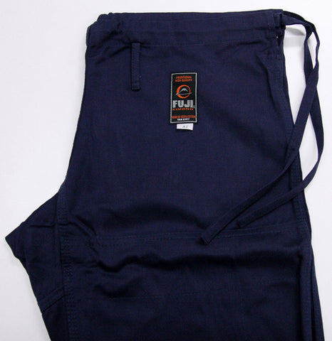 Pants Side - Navy All Around BJJ Gi by Fuji