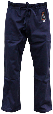 Pants - Kid's Navy All Around BJJ Gi by Fuji