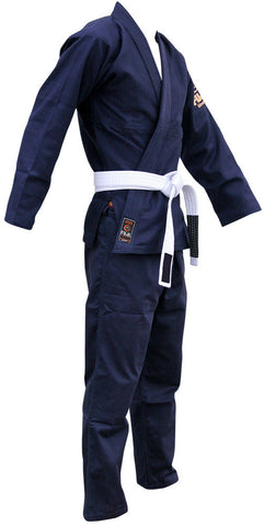 Right - Kid's Navy All Around BJJ Gi by Fuji
