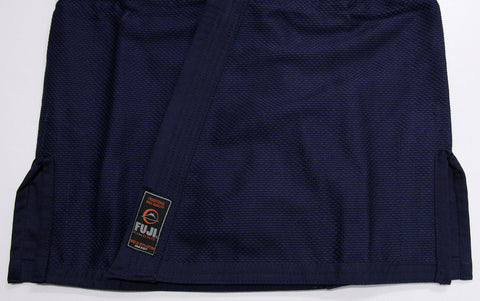 Navy All Around BJJ Gi by Fuji - Budovideos