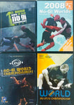 2007-2010 BJJ No Gi World Championship Collectors DVD Set - Budovideos Inc