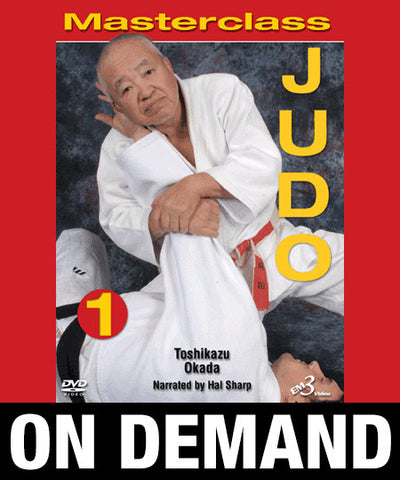 Masterclass Judo Volume 1 by Toshikazu Okada (On Demand) - Budovideos