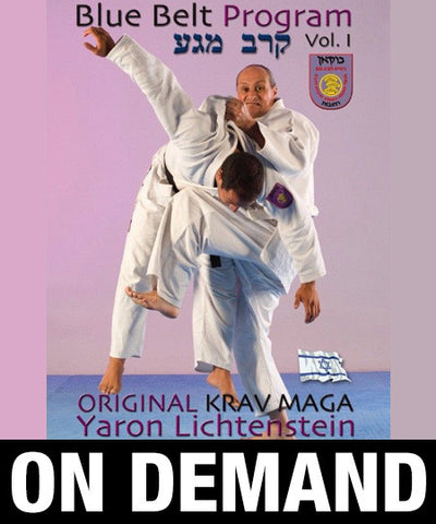 Original Krav Maga Blue Belt program Vol1 by Yaron Lichtenstein (On Demand)