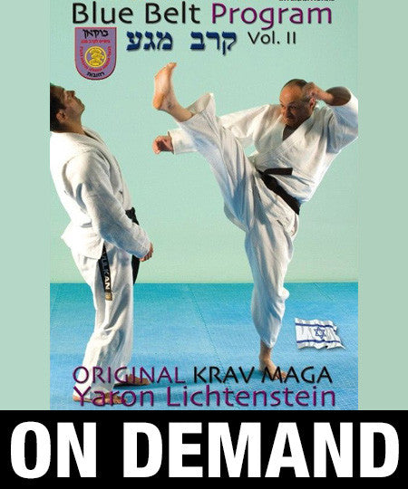 Original Krav Maga Blue Belt program Vol2 by Yaron Lichtenstein (On Demand)