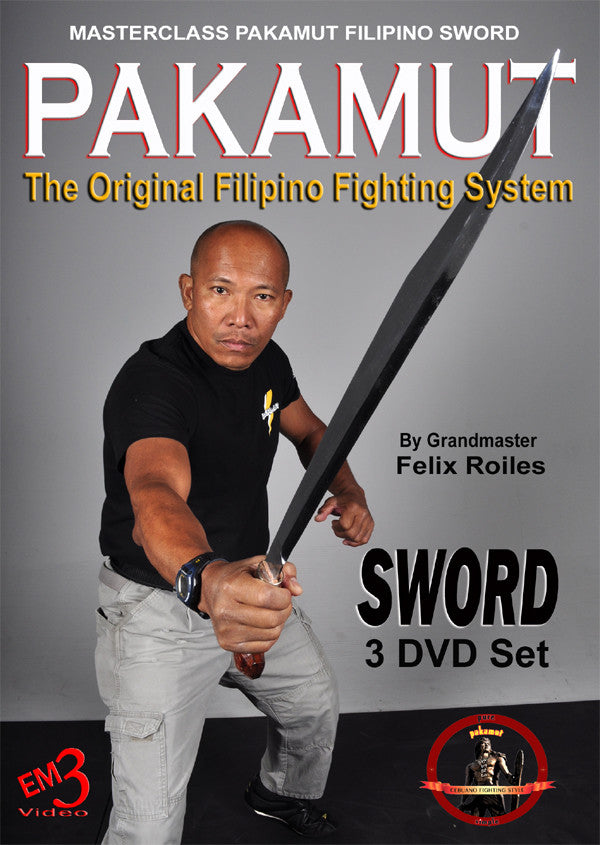 Pakamut Filipino Sword Fighting System 3 DVD Set by Felix Roiles
