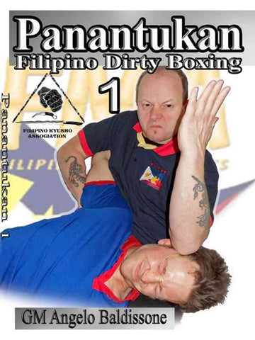 Panantukan Filipino Dirty Boxing 7 DVD Set by ANGELO BALDISSONE (Preowned)