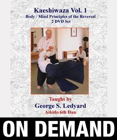 Principles of Kaeshiwaza Vol 1 with George Ledyard (On demand) - Budovideos