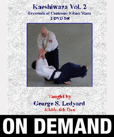 Principles of Kaeshiwaza Vol 2 with George Ledyard (On demand) - Budovideos
