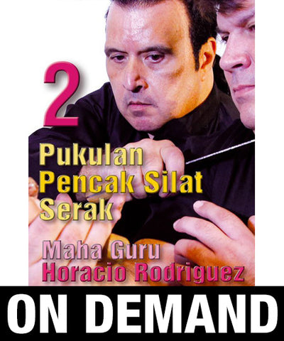 Pukulan Pencak Silat Serak Vol 2 with Horacio Rodriguez (On Demand)