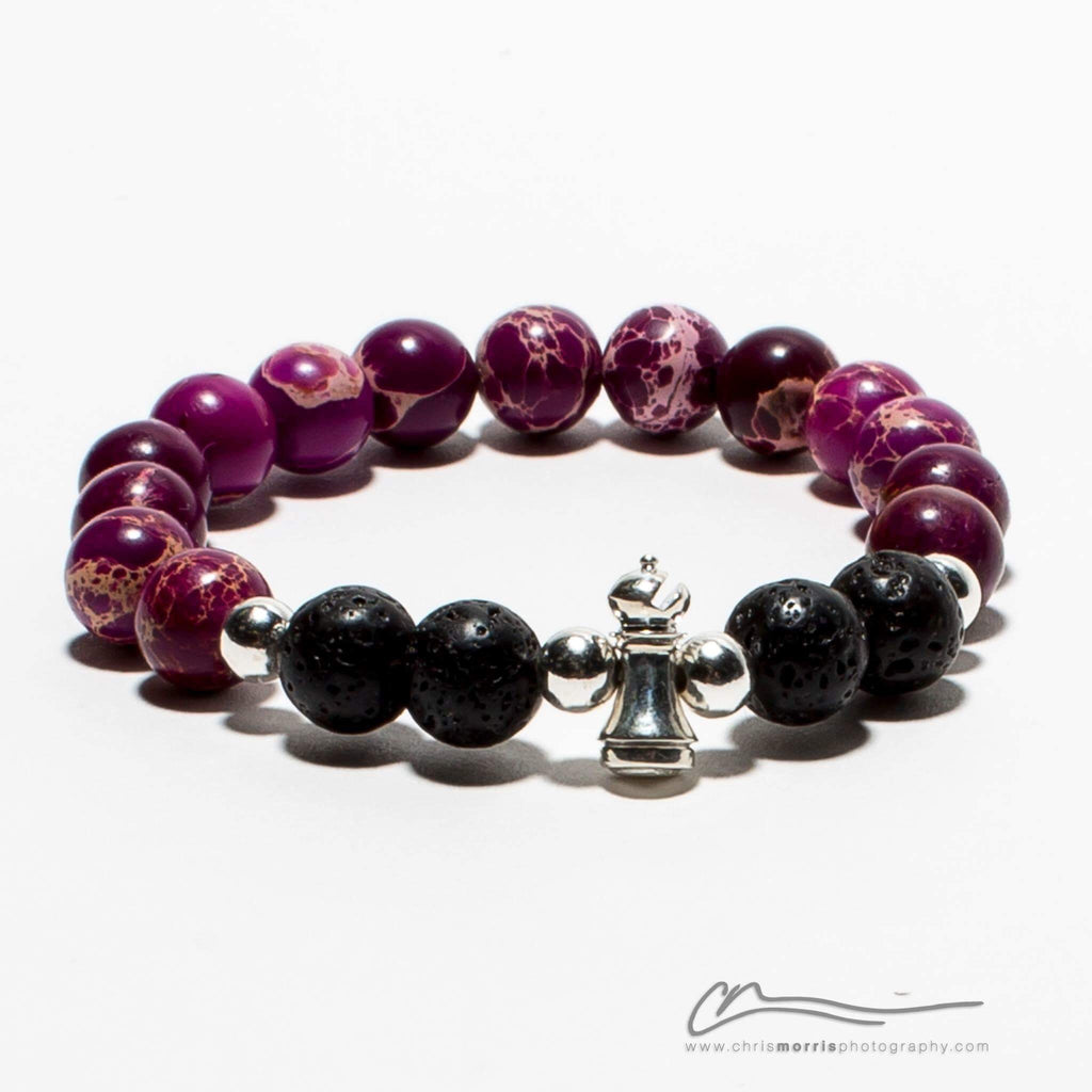 Purple Rank Bracelet by BJJ Jewelers