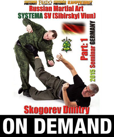 RMA Systema SV 2015 International Seminar Vol 1 Germany with Dmitry Skogorev (On Demand)
