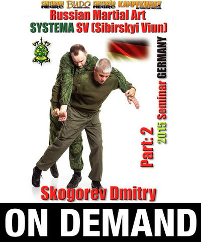 RMA Systema SV 2015 International Seminar Vol 2 Germany with Dmitry Skogorev (On Demand)