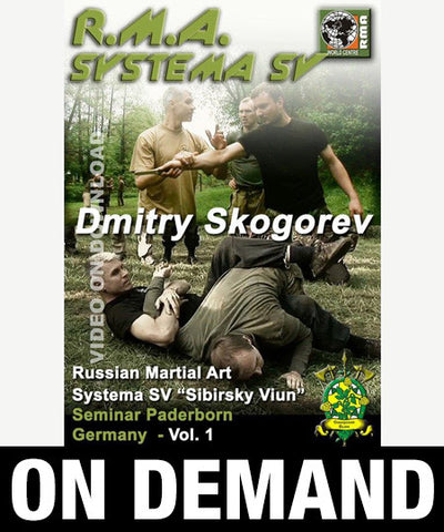 RMA Systema SV Seminar Paderborn, Germany Vol 1 by Dmitry Skogorev (On Demand) - Budovideos