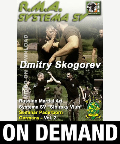 RMA Systema SV Seminar Paderborn, Germany Vol 2 by Dmitry Skogorev (On Demand) - Budovideos
