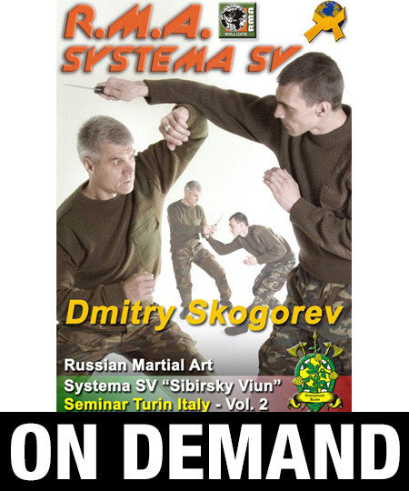 RMA Systema SV Seminar Vol 2 Turin, Italy 2013 by Dmitry Skogorev (On Demand) - Budovideos