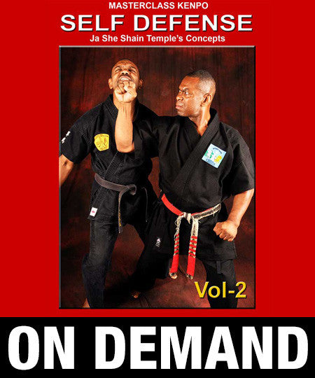 Masterclass Kenpo Volume 2 Kenpo Self Defense by Robert Temple (On Demand)