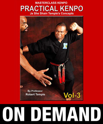 Masterclass Kenpo Volume 3 Practical Kenpo by Robert Temple (On Demand) - Budovideos