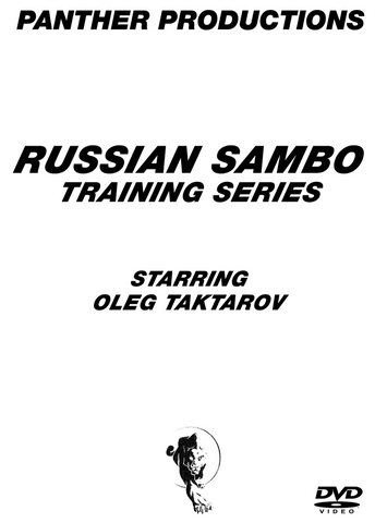 Russian Sambo 9 DVD Set with Oleg Taktarov - Budovideos