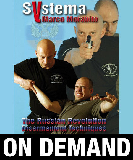 Russian Systema, Disarm techniques by Marco Morabito (On Demand) - Budovideos