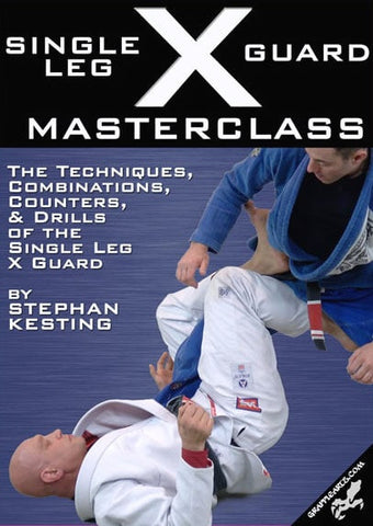 Single Leg X Guard Masterclass 2 DVD Set with Stephan Kesting - Budovideos