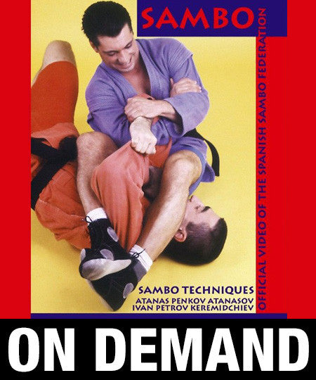 Sambo Techniques by Penov and Petrov (On Demand)