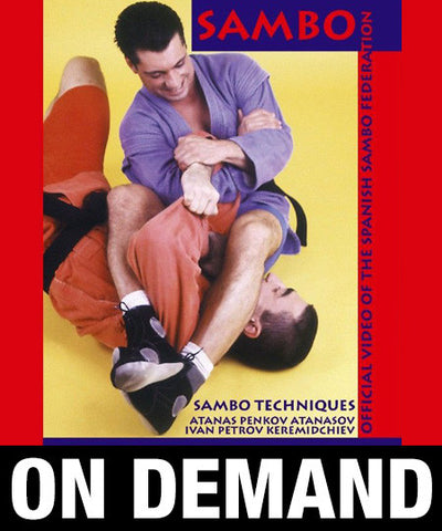 Sambo Techniques by Penov and Petrov (On Demand) - Budovideos
