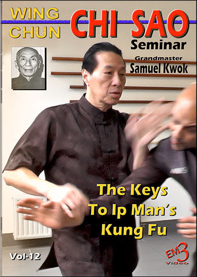Wing Chun CHI SAO Seminar 2 DVD Set with Samuel Kwok