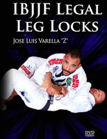IBJJF Legal Leg Locks DVD by Jose Varella