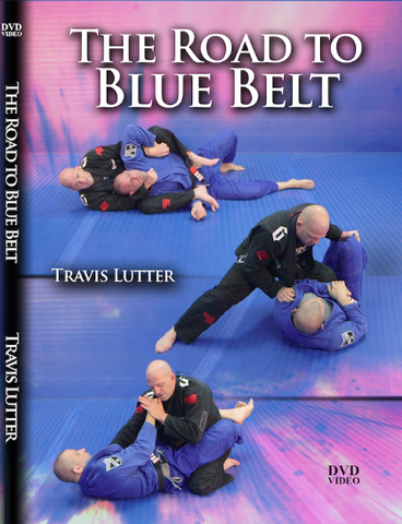 The Road to Blue Belt 2 DVD Set by Travis Lutter