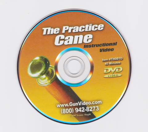 The Practice Cane DVD by Lenny Magill (Preowned) - Budovideos