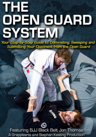 The Open Guard System 5 DVD Set by Jon Thomas - Budovideos