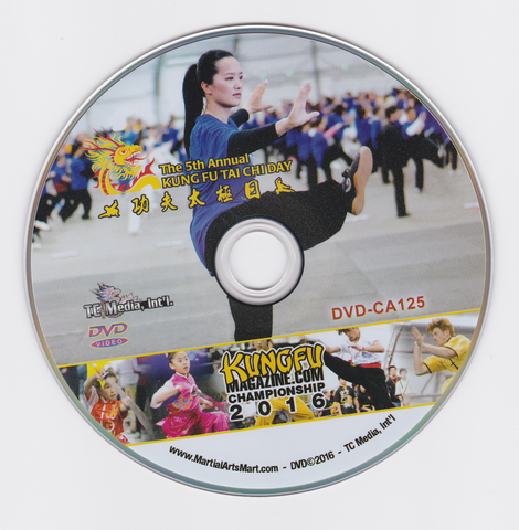 5th Annual Tai Chi Day Event DVD (Preowned)