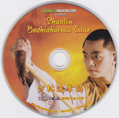 Bodhidharma Cane DVD by Shi Yantuo (Preowned) - Budovideos