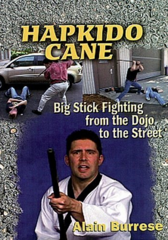 Hapkido Cane 2 DVD Set by Alain Burrese (Preowned) - Budovideos