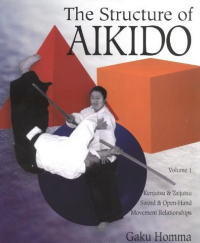 The Structure of Aikido Book by Gaku Homma (Preowned) - Budovideos