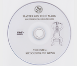 Southern Praying Mantis Kung Fu Vol 4: Six Sounds Chi Gung DVD by Gin Foon Mark (Preowned) - Budovideos