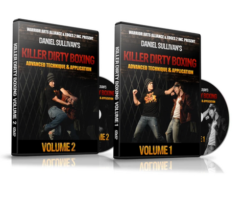 Killer Dirty Boxing 3 DVD Set by Daniel Sullivan