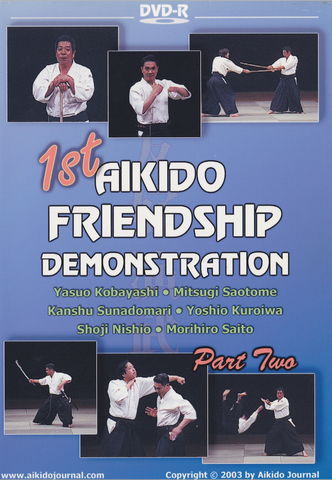 1st Aikido Friendship Demo DVD 2 (Preowned) - Budovideos