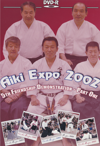 Aiki Expo 2002 Demonstrations Part 1 DVD (Preowned) - Budovideos