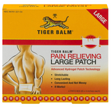 "Tiger Balm Pain Relieving Large Patch 4""x 8"", 4-Count Package - Budovideos"