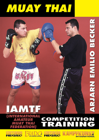 Muay Thai Competition Training DVD by Emilio Becker