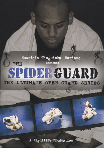 The Spider Guard DVD by Mauricio Tinguinha Mariano (Preowned) - Budovideos