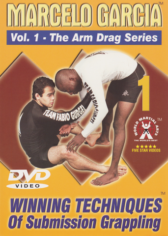 Arm Drag Series DVD by Marcelo Garcia (Preowned) - Budovideos