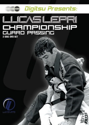 Championship Guard Passing 2 DVD Set by Lucas Lepri (Preowned)