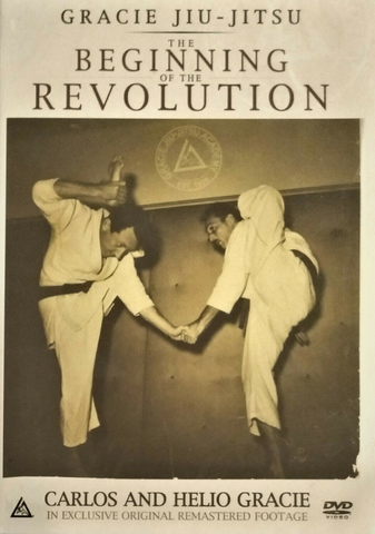 Gracie Jiu-Jitsu The Beginning of the Revolution DVD with Carlos & Helio Gracie