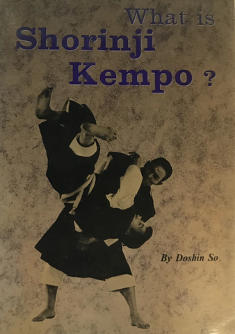 What is Shorinji Kempo Book by Doshin So (Preowned) - Budovideos