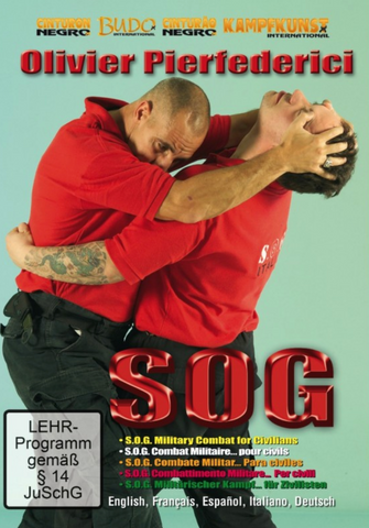 Military SOG for Civilians DVD with Olivier Pierfedericci - Budovideos Inc